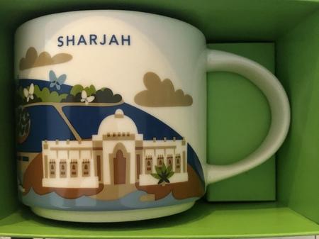 Starbucks City Mug Sharjah Yah
