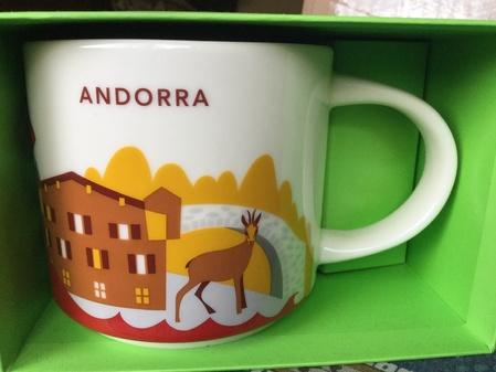 Starbucks City Mug Andorra YAH