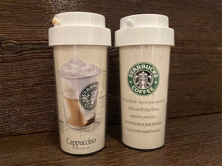 Starbucks City Mug 1992 Cappuccino V2 Early Ad Campaign Tumbler