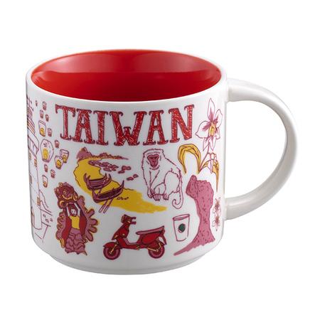 Starbucks City Mug Been There Taiwan (14oz)