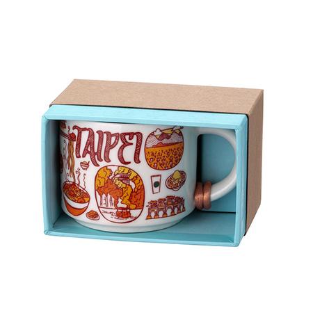 Starbucks City Mug Been There Taipei Ornament (2oz)
