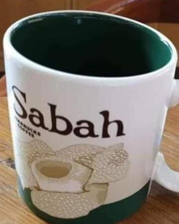 Starbucks City Mug Sabah v.2 - Rafflesiah Flower
