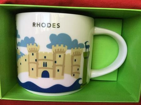 Starbucks City Mug Rhodes YAH mug