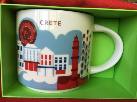 Starbucks City Mug Crete YAH Mug