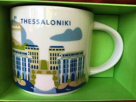 Starbucks City Mug Thessaloniki YAH Mug