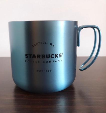 Starbucks City Mug 2019 Enamel Blue Heritage Mug