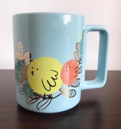 Starbucks City Mug Birdies and leaves mug 12 fl oz