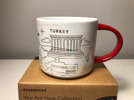 Starbucks City Mug 2020 Starbucks Turkey Christmas  Mug You Are Here