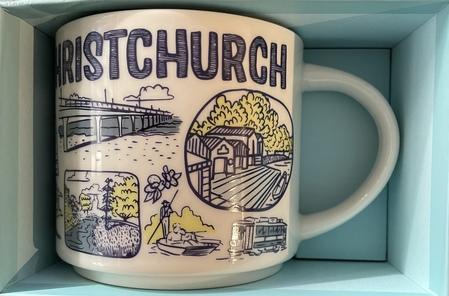 Starbucks City Mug 2020 Christchurch Been There Series