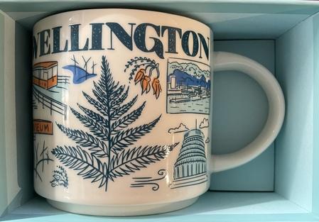 Starbucks City Mug 2020 Wellington Been There Series