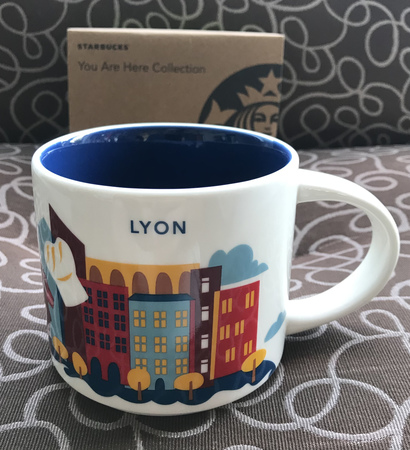 Starbucks City Mug 2019 Lyon You Are Here 14 oz