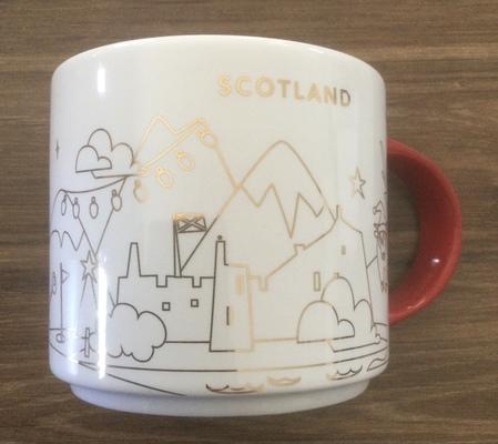Starbucks City Mug 2019 Scotland Xmas Yah