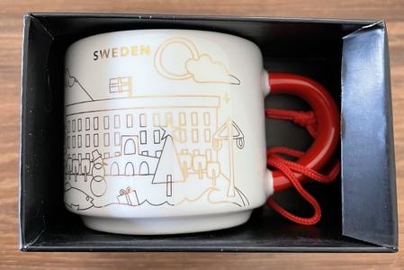 Starbucks City Mug 2020 Sweden Xmas Yah Ornament