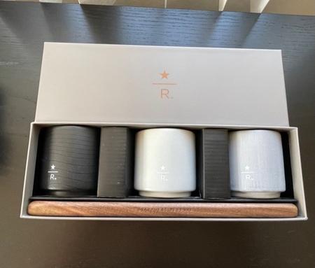 Starbucks City Mug 2019 3 oz. Reserve Roastery Boxed Cup Set: Black