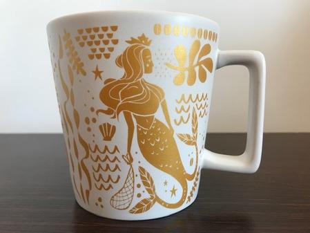 Starbucks City Mug Golden siren 14 fl. oz
