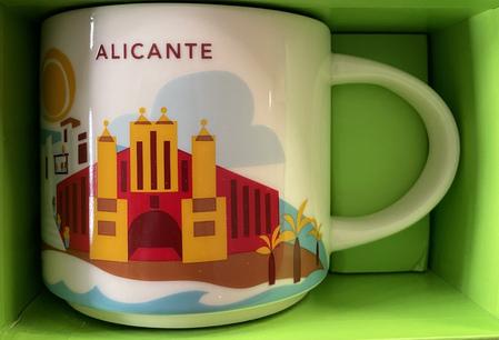 Starbucks City Mug Alicante Yah