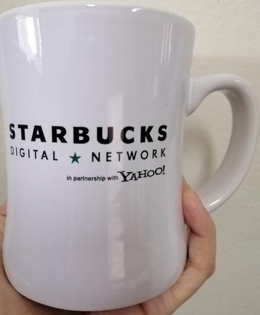 Starbucks City Mug Starbucks Digital Network in partnership with Yahoo!