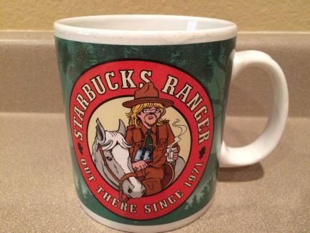 Starbucks City Mug Doonesbury-Starbucks Ranger